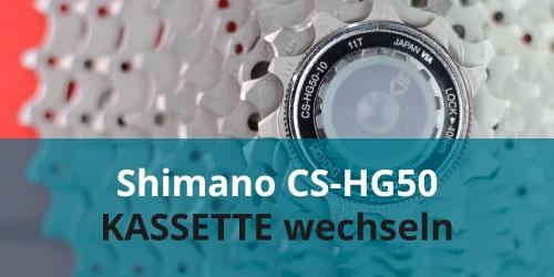 Shimano_CS-HG50_Kassette_wechseln
